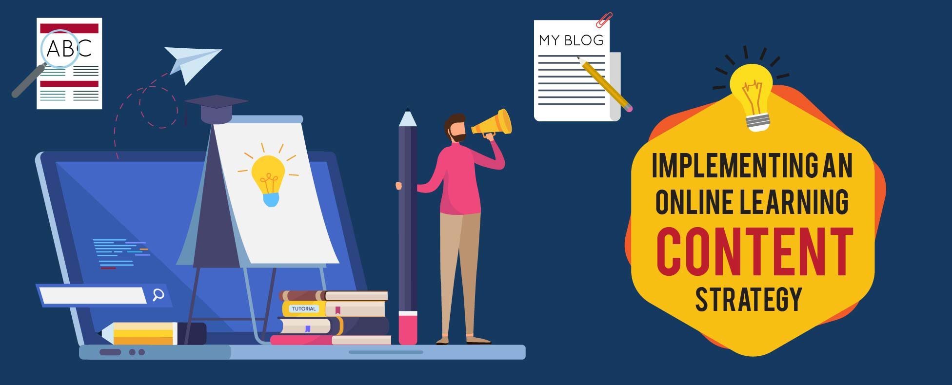 Implementing an online learning content strategy